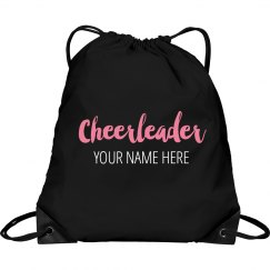 Custom Cheerleader Clinch Bag