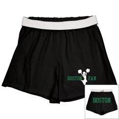 Boston cheer shorts