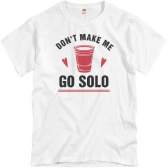 Don't Make Me Go Solo To Prom