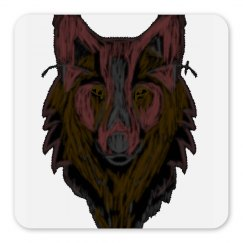 Wolf Head Magnet