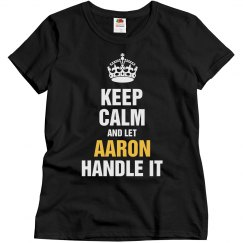 Let Aaron handle it