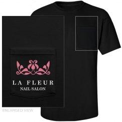 Nail Salon Pocket Uniform