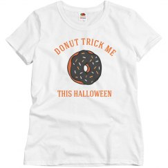 Donut Trick Me This Halloween