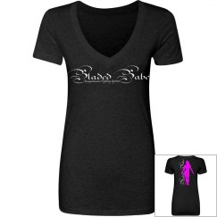 Bladed Babe Double-Sided V-Neck