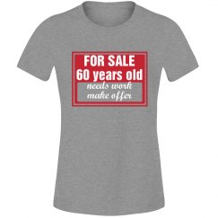 60 year old for sale