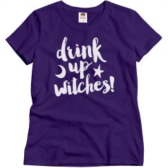 Witches Drink On Halloween