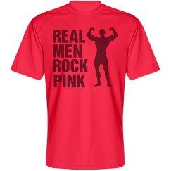 Real Men Rock Pink