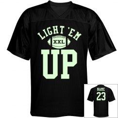 Football Night Game Glow Shirts