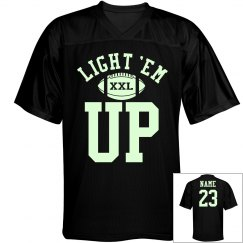 Awesome Football Night Game Glow in the Dark Jerseys