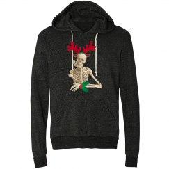 skeleton goth christmas