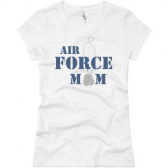 Air Force Mom Tags