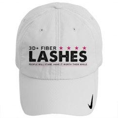 3D + Fiber Lashes Hat