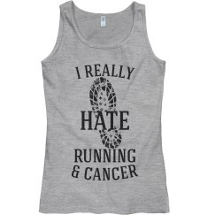 I really hate running and cancer