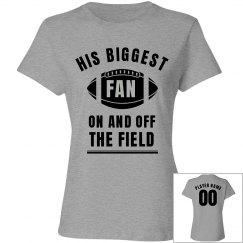 Cute Football Mom His Biggest Fan