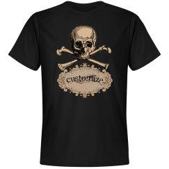 Custom Skull & Crossbones