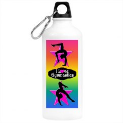 GYMNAST LOVE WATER BOTTLE
