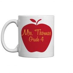 Mrs. Thomas Mug