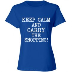 Keep Calm And Carry The Shopping