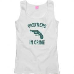 Partners in Crime Best Friends T-Shirt