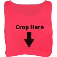 Crop Here | Crop Top