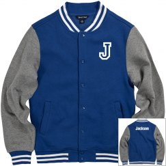 Jackson letterman jacket