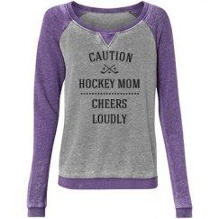 Caution hockey mom