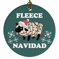 Fleece Navidad Ornament