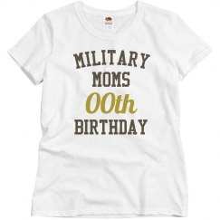 Customize military mom bday