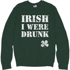 Cozy Irish Drunk St Patricks Day