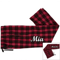 Personalized Flannel Pants