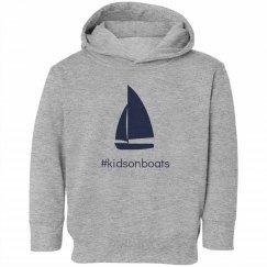 kidsonboats, hoodie, gray