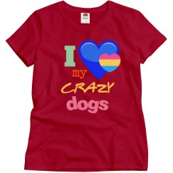 Love my crazy dogs!