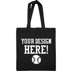 Create A Custom Baseball Mom Tote