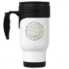 Volleyball Sports Team Gift Mug