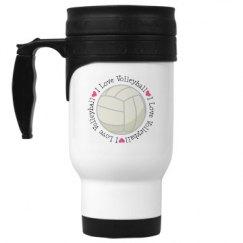 Volleyball Sports Team Gift Mug