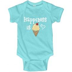 Happiness is Ice Cream