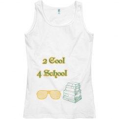 2 cool 4 school  grn/yell