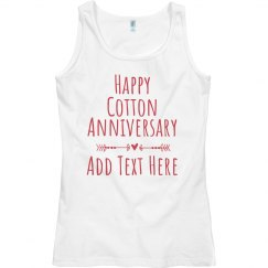 Happy Cotton Anniversary