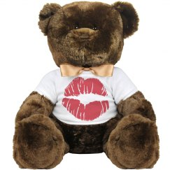 Kiss teddy bear