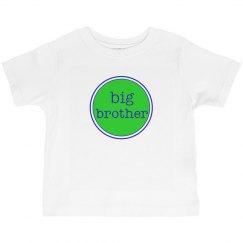Big Brother Shirt Green Navy