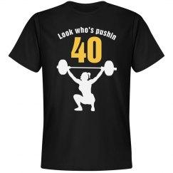 Look who's pushin 40