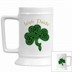 Irish Pride Shamrock Stein