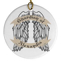 Guardian of Alexndia Ornament