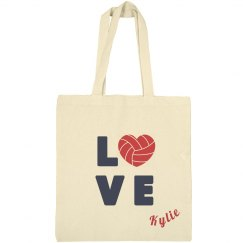 Volleyball Love Tote