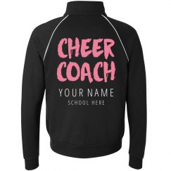 Custom Cheer Coach Jacket
