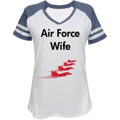 Air force wife t shirt