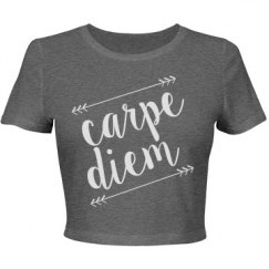 Carpe Diem Crop Top