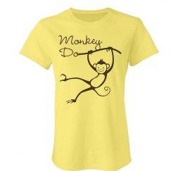 Best Friend Monkeys Tee