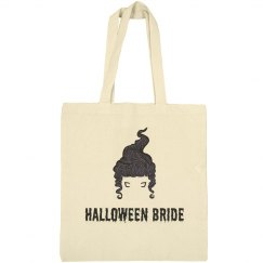 Halloween Bride Tote Bag