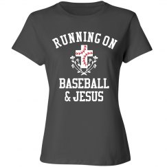 Funny Running On Baseball & Jesus